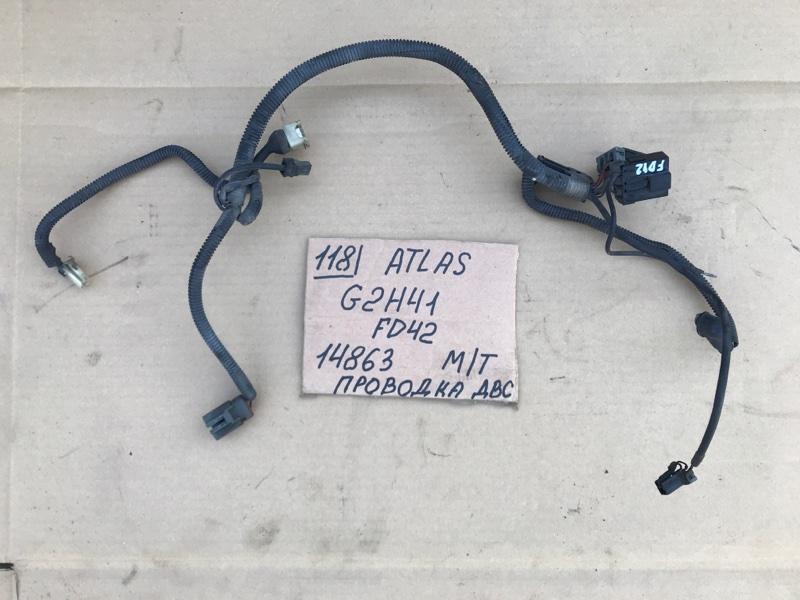 Проводка двигателя Nissan Atlas G2H41 FD42 1994