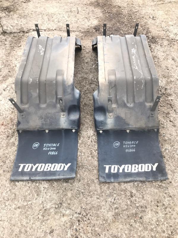 Крыло Toyota Toyoace XZU344-1002309 N04C 2007 заднее