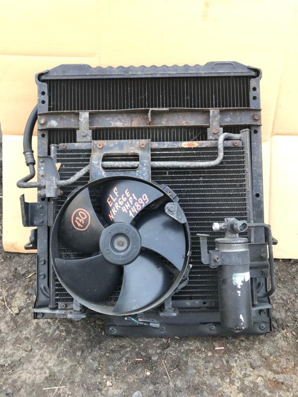 Радиатор кондиционера Isuzu Elf NKR66E 4HF1 1994
