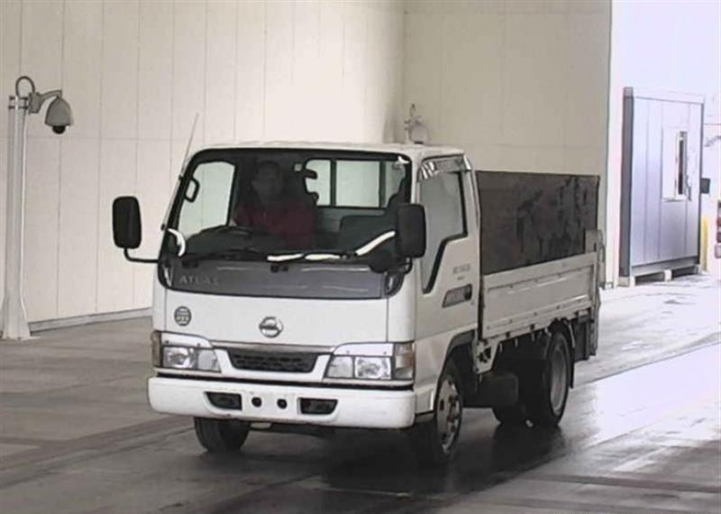 Двигатель Nissan Atlas AKR69E 4JG2 2003