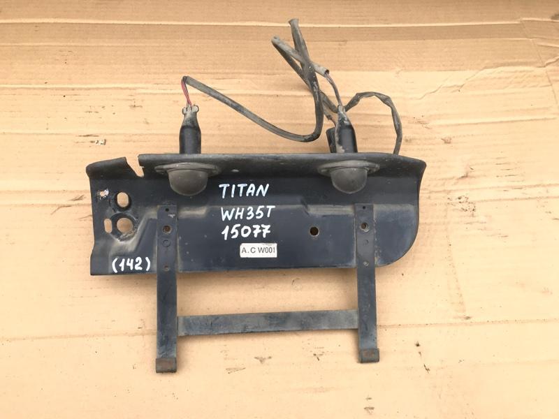 Подсветка номера Mazda Titan WH35T 4HF1 2001
