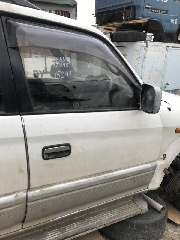 Дверь Toyota Land Cruiser Prado KZJ95 1KZ 1998 передняя правая