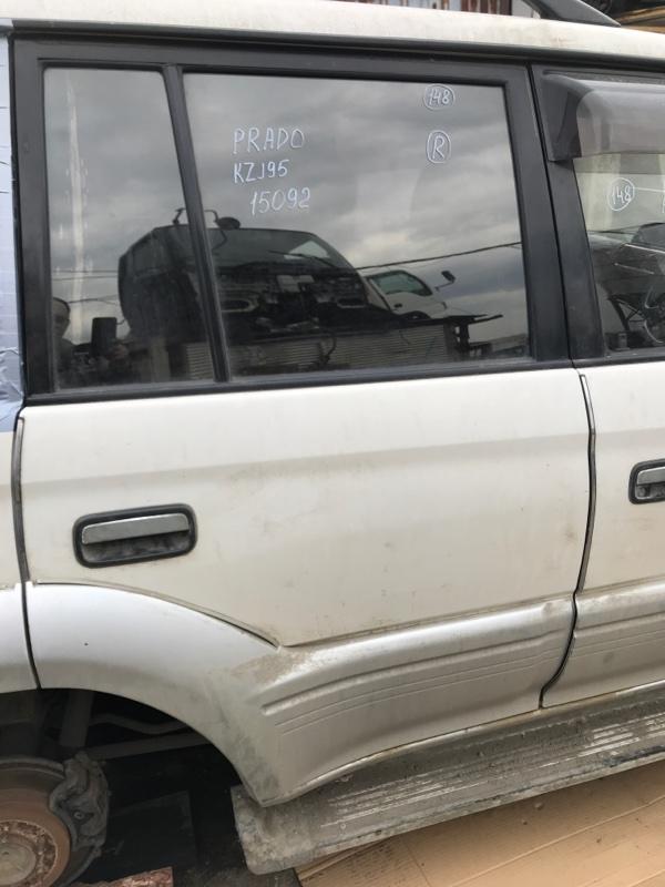 Дверь Toyota Land Cruiser Prado KZJ95 1KZ 1998 задняя правая