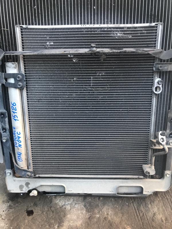 Радиатор кондиционера Toyota Toyoace XZU344 N04C 2007