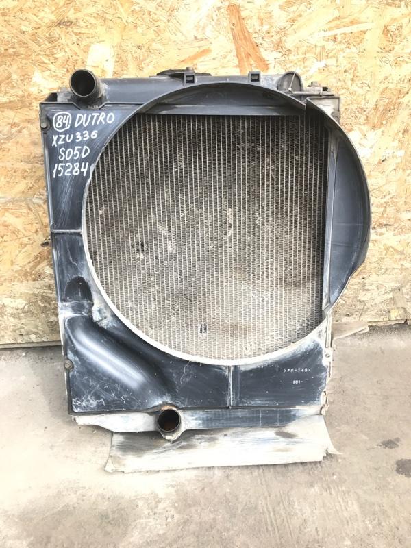 Радиатор Hino Dutro XZU336 S05D 2005