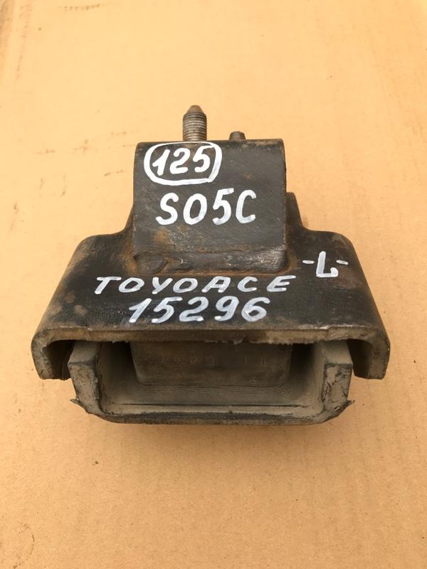 Подушка двигателя Toyota Toyoace XZU307 S05C 2003 левая