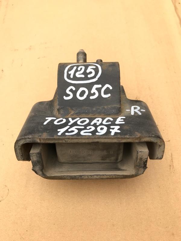 Подушка двигателя Toyota Toyoace XZU307 S05C 2003 правая