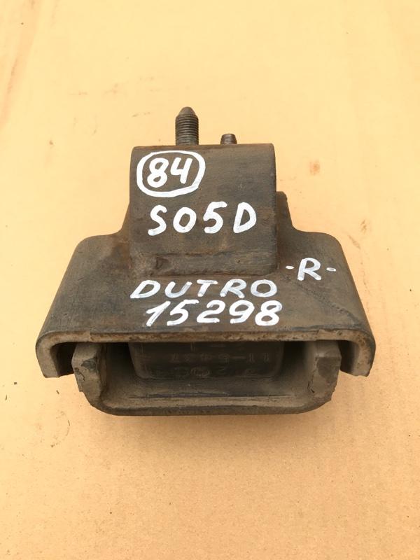 Подушка двигателя Hino Dutro XZU336 S05D 2005 правая