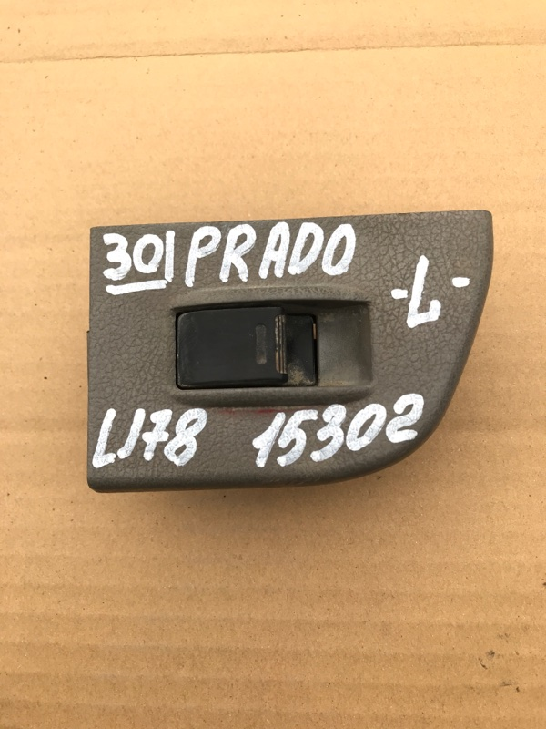 Кнопка стеклоподъемника Toyota Land Cruiser Prado LJ78 2LT 1993 задняя левая