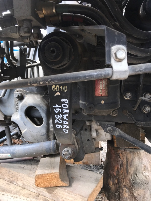 Редуктор рулевой Isuzu Forward FRR34S2 6HK1 2010