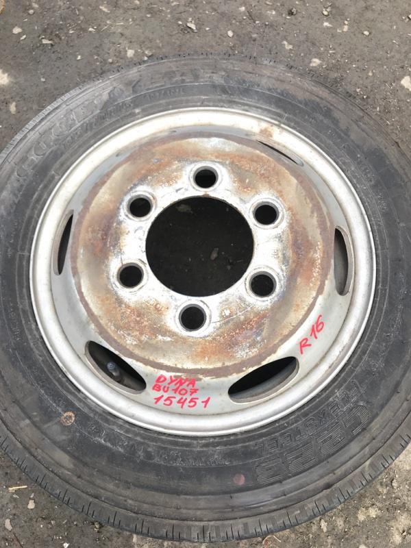 Диск колесный r16 Toyota Dyna BU107 15B 1997