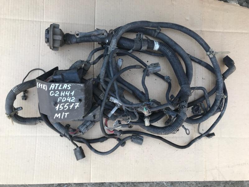 Проводка (коса) моторного отсека Nissan Atlas G2H41 FD42 1994