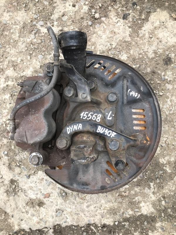 Поворотный кулак Toyota Dyna BU107 15B 1997 левый