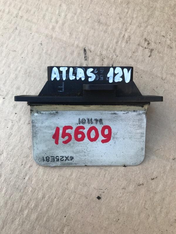 Реостат печки Nissan Atlas R4F23 QD32 1999