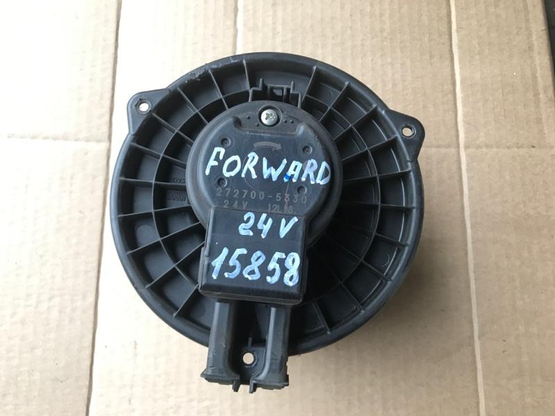 Моторчик печки Isuzu Forward FRR34S2 6HK1 2010