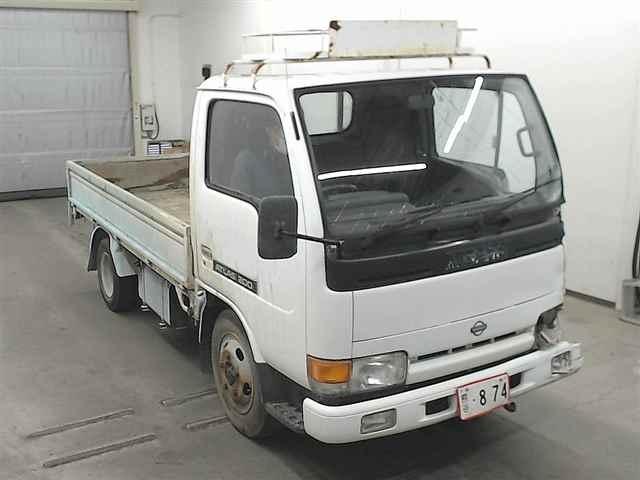 Двигатель Nissan Atlas G2H41 FD42 1992