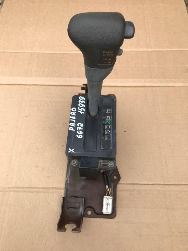 Селектор кпп Mitsubishi Pajero V43 6G72 1995