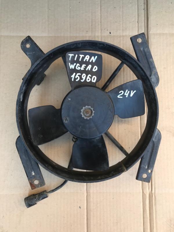 Вентилятор кондиционера Mazda Titan WGEAD TF 1999
