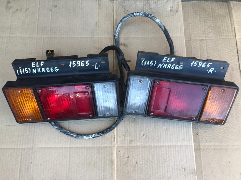 Стоп сигнал Isuzu Elf NKR66G 4HF1 1993