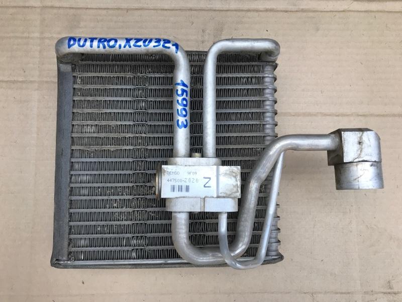 Радиатор кондиционера Hino Dutro XZU321 S05D 2004