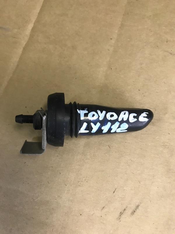 Форсунка стеклоомывателя Toyota Toyoace LY112 5L 2000