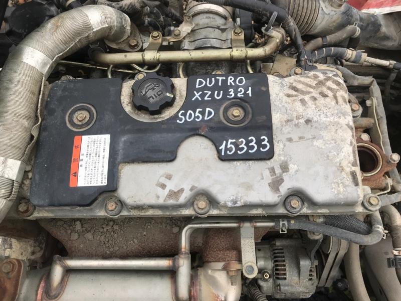 Двигатель в сборе Hino Dutro XZU321 S05D 2004