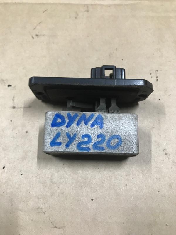 Реостат печки Toyota Dyna LY220 5L 2001