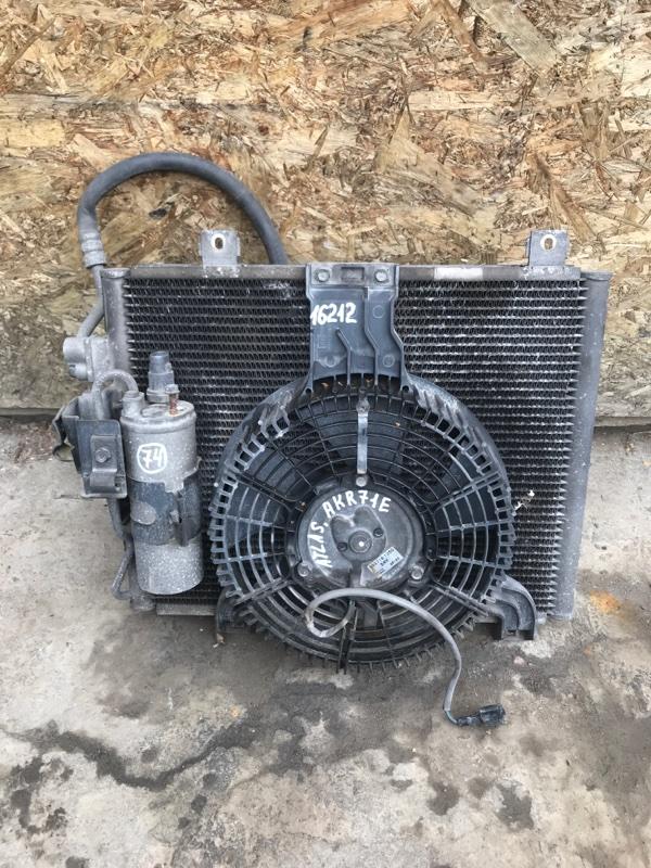 Радиатор кондиционера Nissan Atlas AKR71E 4HG1 2002