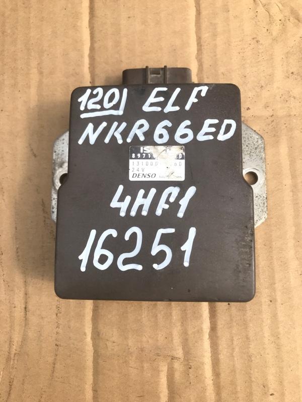 Блок управления топливным насосом Isuzu Elf NKR66ED 4HF1 2000