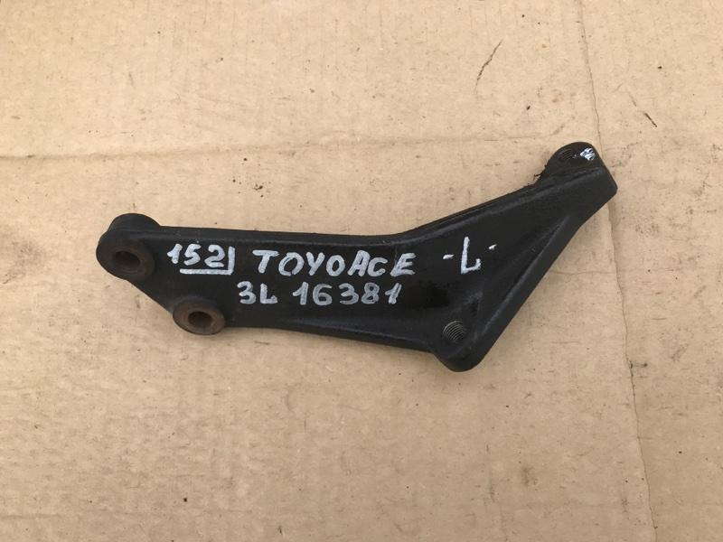 Крепление двигателя Toyota Toyoace LY101 3L 1997 левое