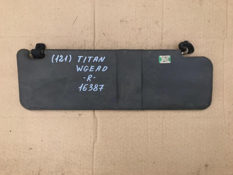 Козырек солнцезащитный Mazda Titan WGFAK TF 1996 правый