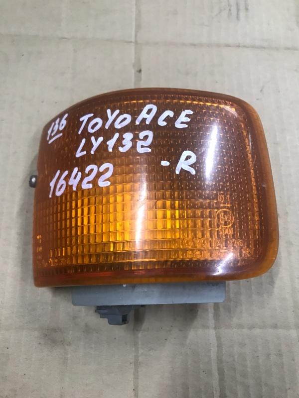 Поворотник Toyota Toyoace LY132 5L 2000 правый