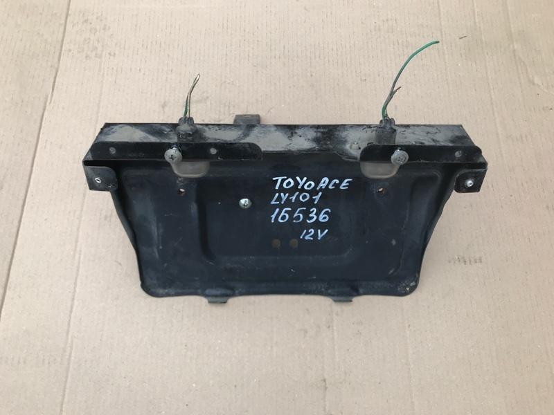 Подсветка номера Toyota Toyoace LY101 3L 1998