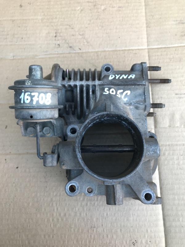 Дроссельная заслонка Toyota Dyna XZU307 S05C 2001