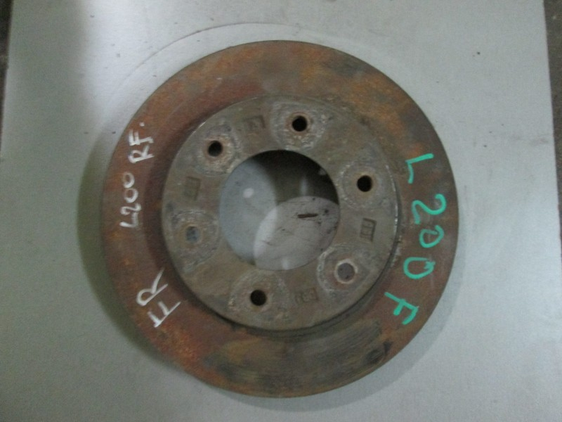Диск тормозной Mitsubishi L200 KB4T 4D56 2008 передний