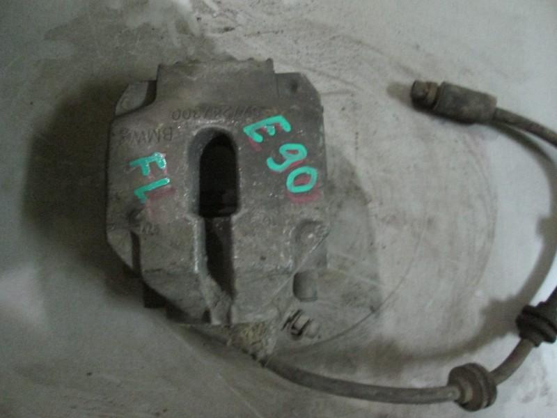 Суппорт тормозной Bmw 3-Series E90 N52B25 2006 передний левый