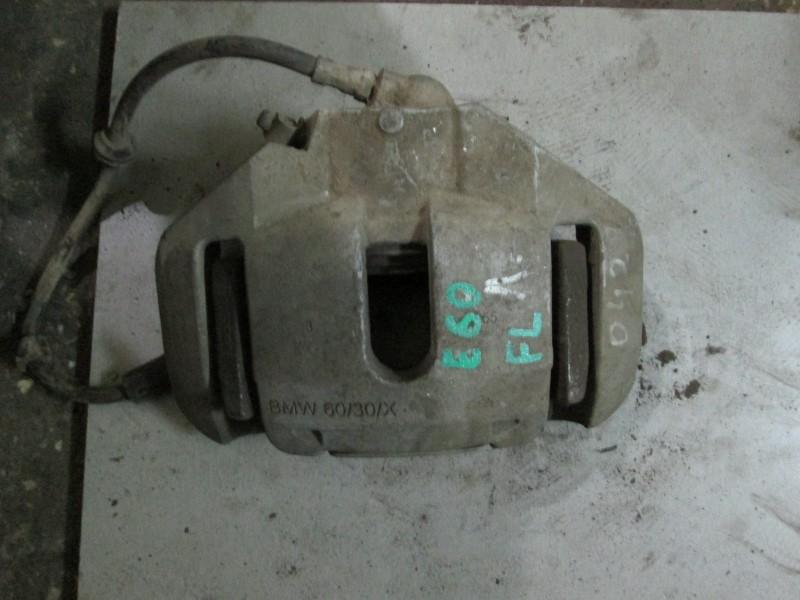 Суппорт тормозной Bmw 5-Series E60 N52B25A 2006 передний левый
