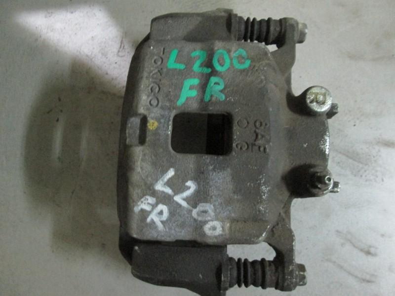 Суппорт тормозной Mitsubishi L200 KB4T 4D56 2008 передний правый
