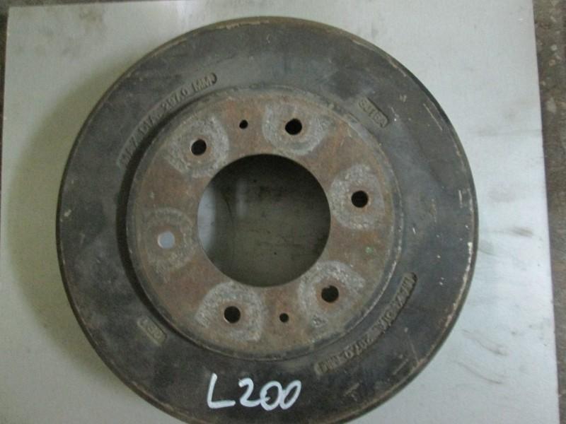 Диск тормозной Mitsubishi L200 KB4T 4D56 2008 задний