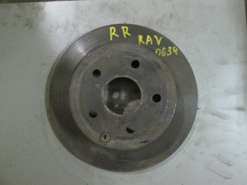 Диск тормозной Toyota Rav4 ACA31 1AZ-FE 2008 задний