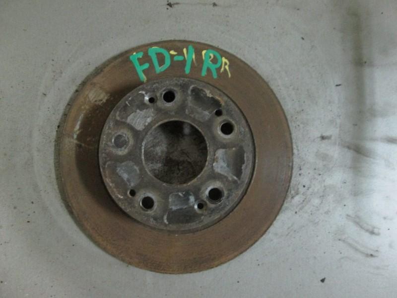 Диск тормозной Honda Civic FD3 LDA2 2011 задний