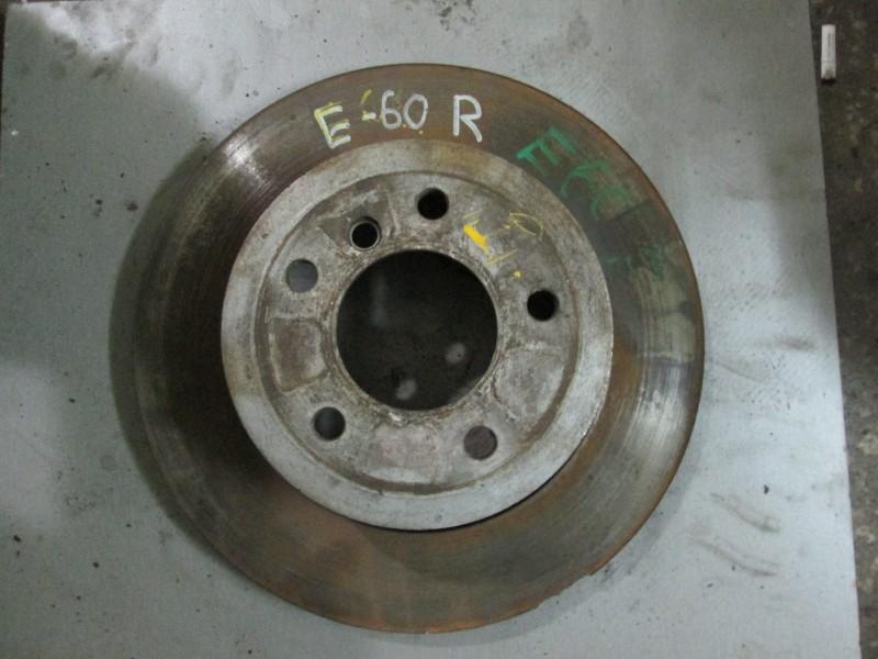 Диск тормозной Bmw 5-Series E60 N52B25A 2004 передний