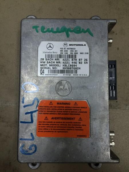 Блок управления телефоном Mercedes-Benz Gl-Class X164 M273.923 2006