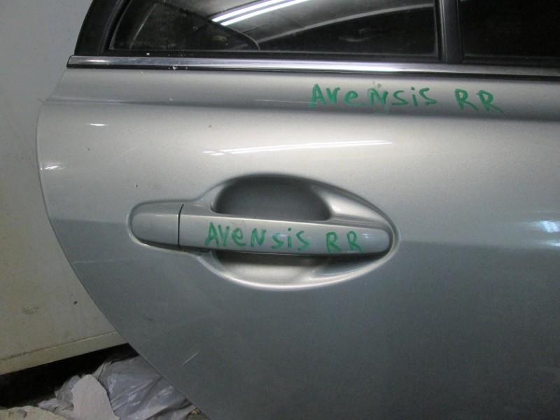 Ручка двери внешняя Toyota Avensis ZZT251 1ZZ-FE 2004 задняя правая