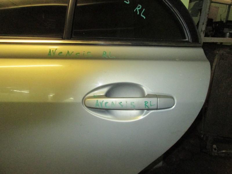 Ручка двери внешняя Toyota Avensis ZZT251 1ZZ-FE 2004 задняя левая