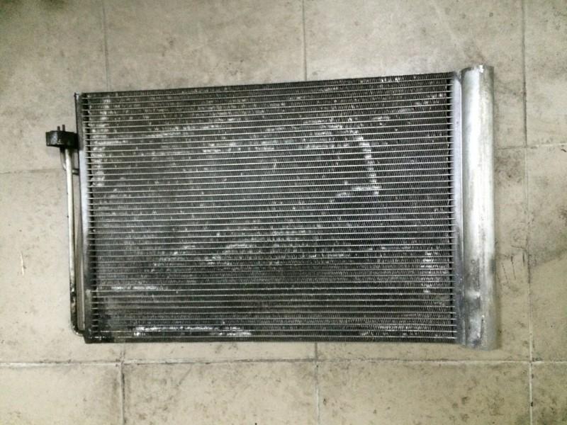 Радиатор кондиционера Bmw 7-Series E65 N62B44A 2003 передний нижний