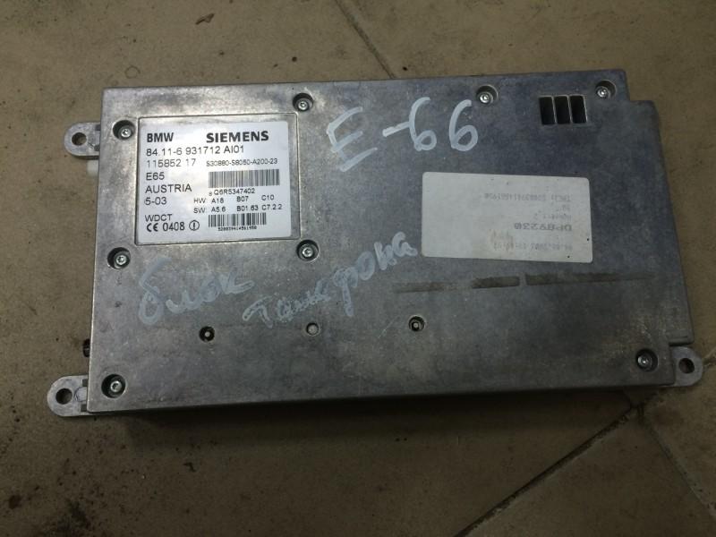 Блок управления телефоном Bmw 7-Series E65 N62B44A 2003