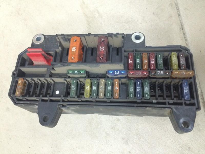 Блок предохранителей, реле салона Bmw 7-Series E66 N62B44A 2003