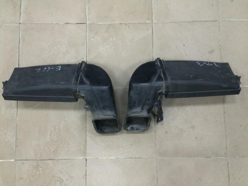 Патрубок воздухозаборника Bmw 7-Series E66 N62B44A 2003 передний
