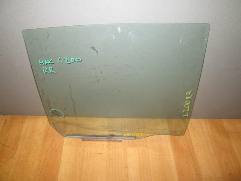 Стекло боковое Mitsubishi L200 KB4T 4D56 2008 заднее правое